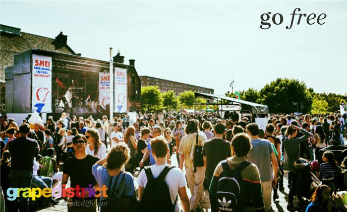 Go Free: Bevrijdingsfestivals Amsterdam & Utrecht