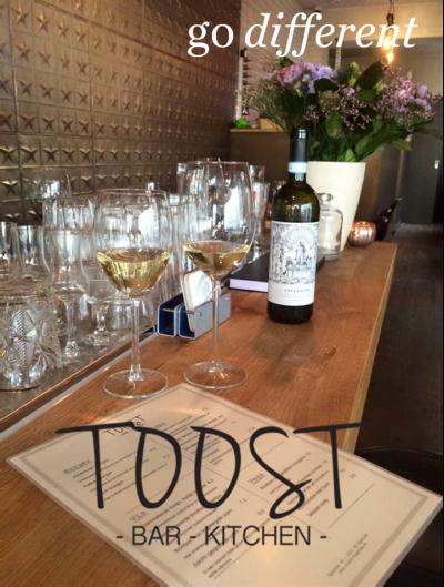 Go Different: Toost Bar&Kitchen