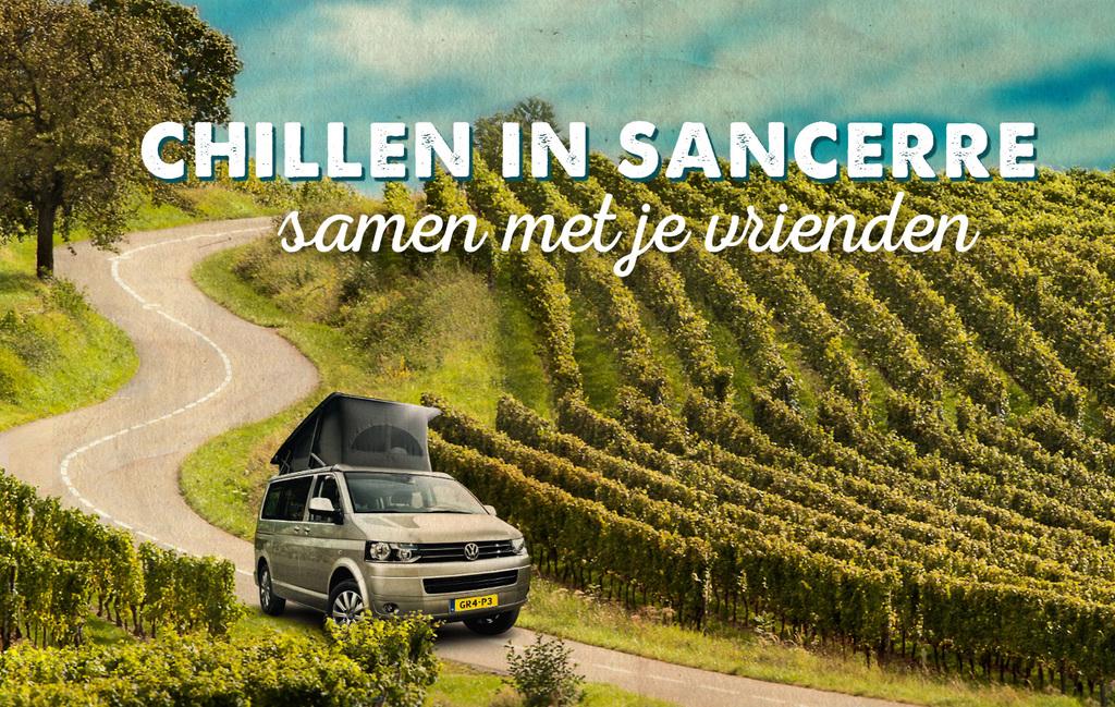 Chillen in Sancerre (samen met je vrienden)