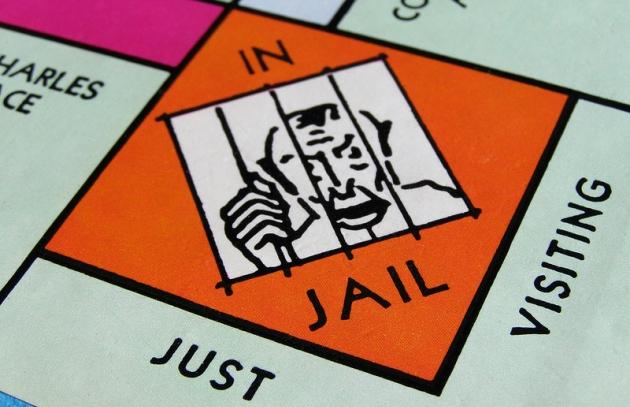 leeg monopoly bord