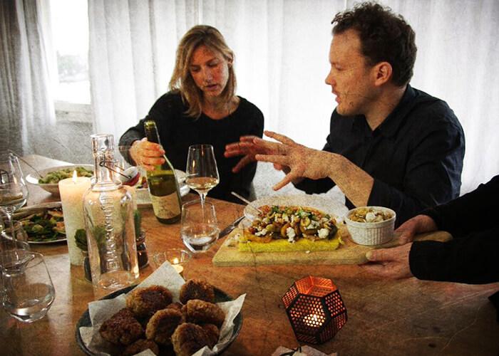Polenta met gegrilde groenten en verleidelijke Viognier