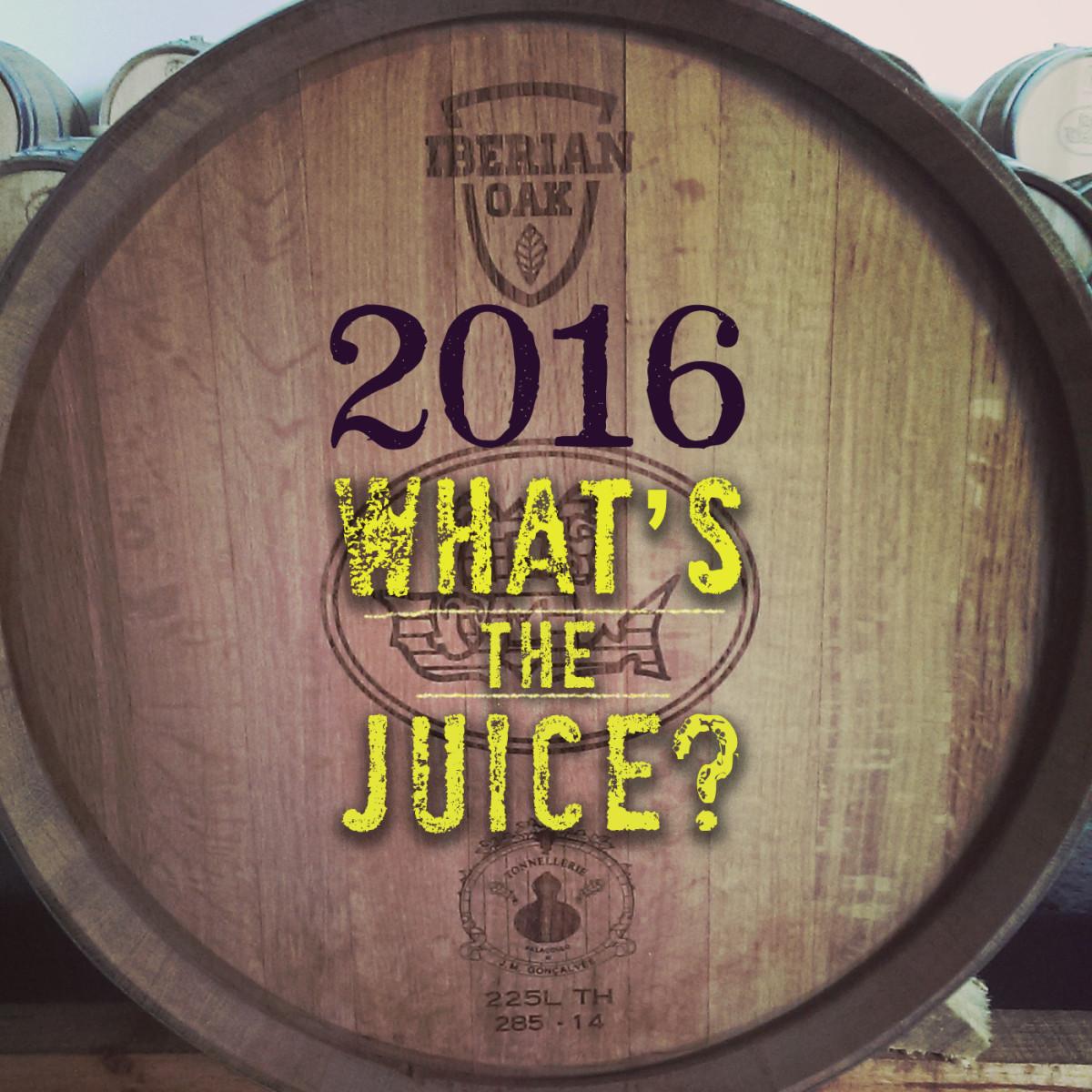 2016 – wat zit er in 't vat?