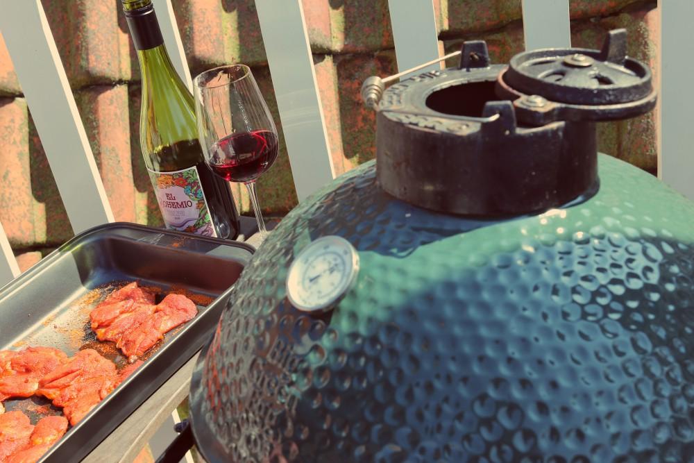 Malse kippendijen in BBQ Dry Rub