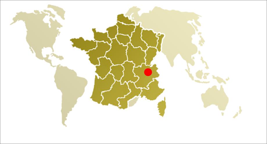 Apremont op de kaart