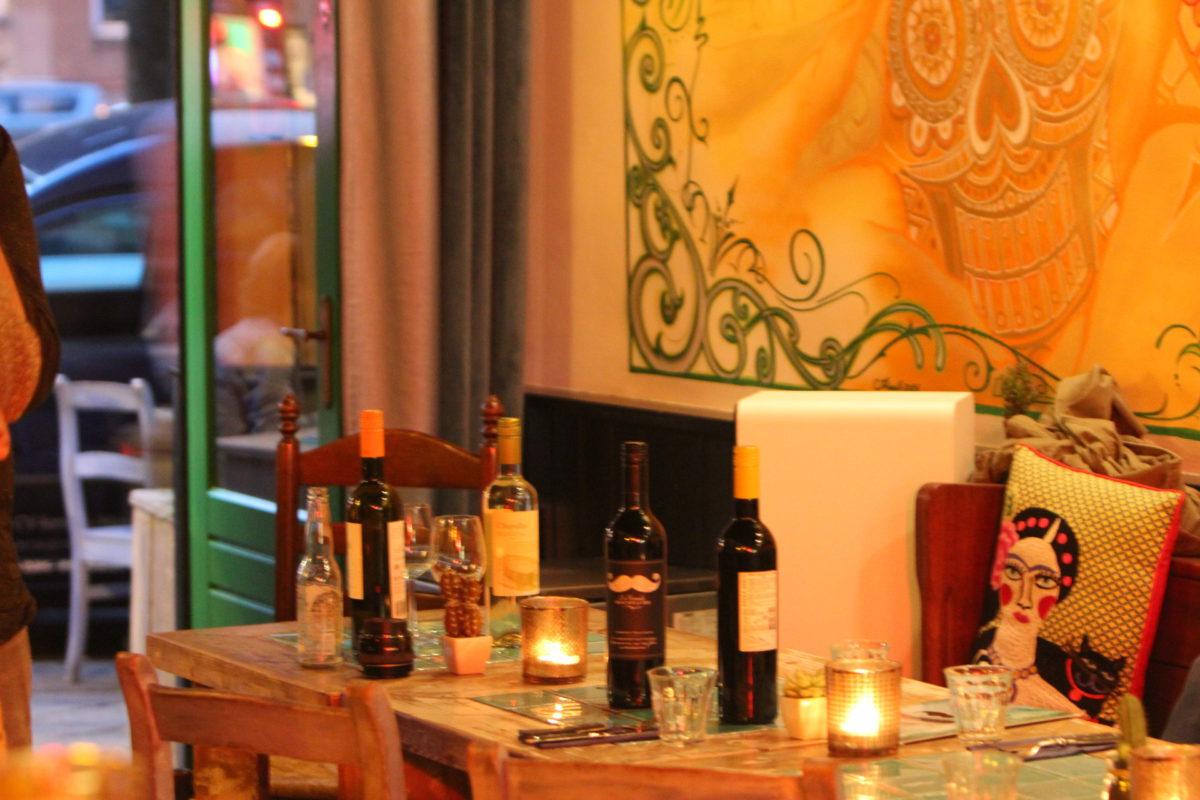 Wijn en taco's bij Señor Mostachio