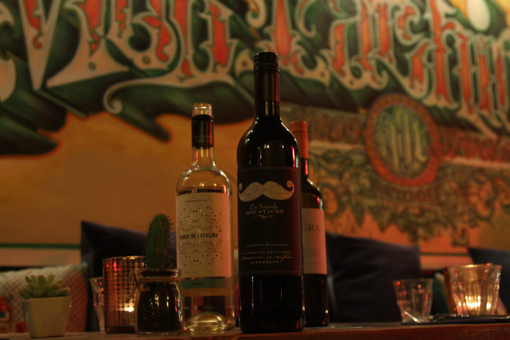 wijn en taco's