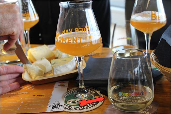 Wijn en kaas of bier en kaas? Wie wint?