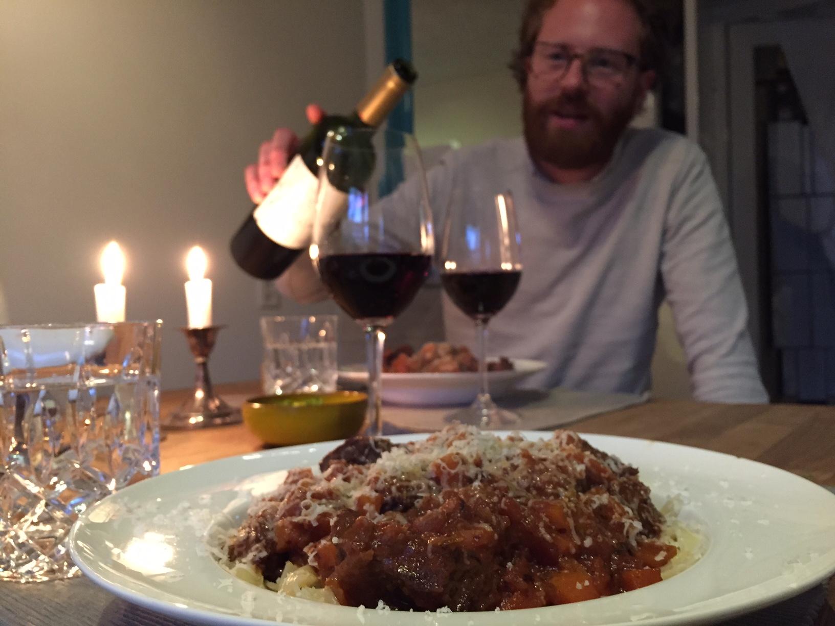 Wijnspijs: Herfstige Pasta Stoofvlees met onze Argentijnse Malbec