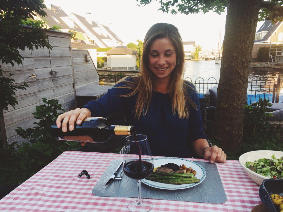 Wijnspijs: Steak Bordelaise met groene asperges