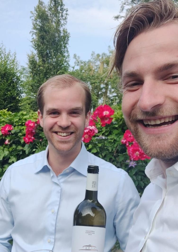 Wijnspijs van 'Masterchef' Olivier en Wijnmeester Jasper