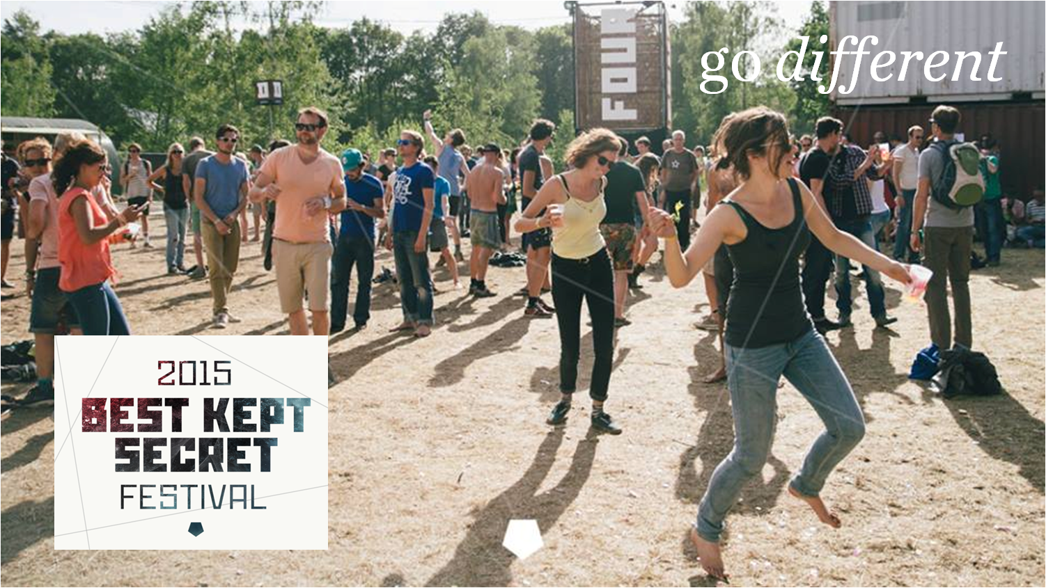 Go Different: Best Kept Secret Festival