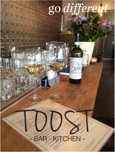 Go Different: Toost Bar&Kitchen