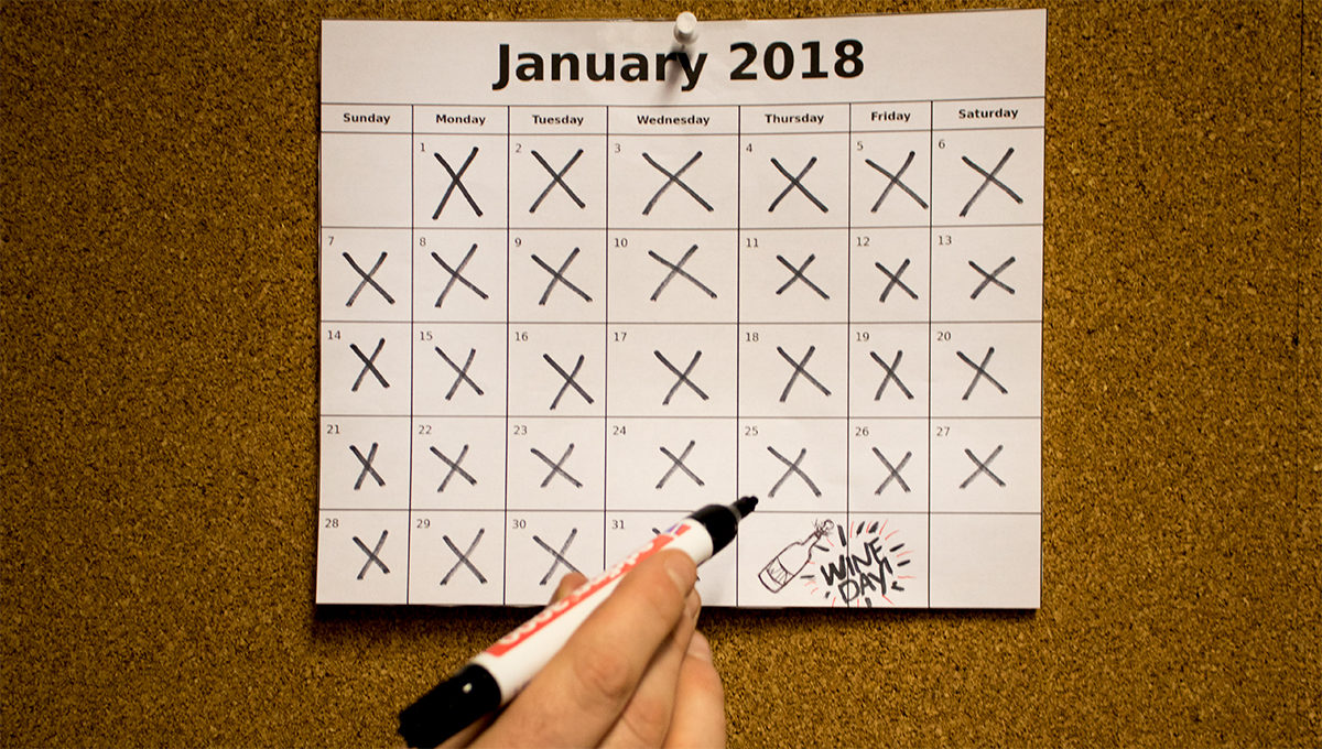 Dry January is ten einde, thank God it's February!