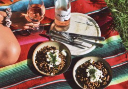 Grapedistrict-Nadler-Rose-Zweigelt-Couscous-Feta-Paddenstoel
